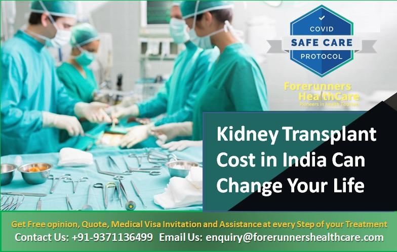 Kidney Transplant Cost in India Can Change Your Life
