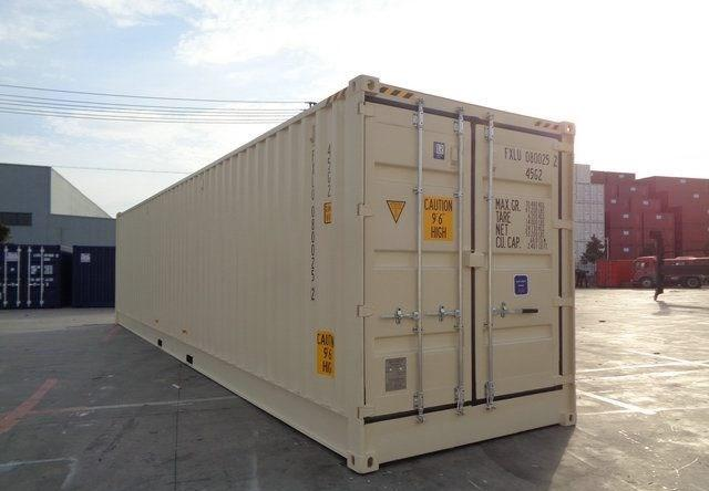 40ft One Trip HIGH CUBE Shipping Container